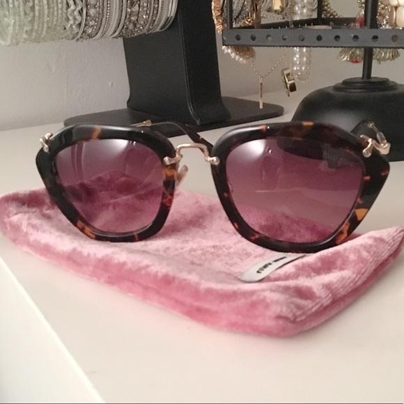 37dbe0d07c9 Miu Miu Sunglasses. M 5ac5b43cb7f72b40deacfc57. Other Accessories ...